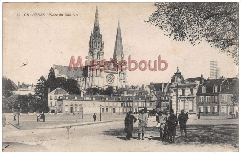 Militaires dans les rues de Chartres Chatel10