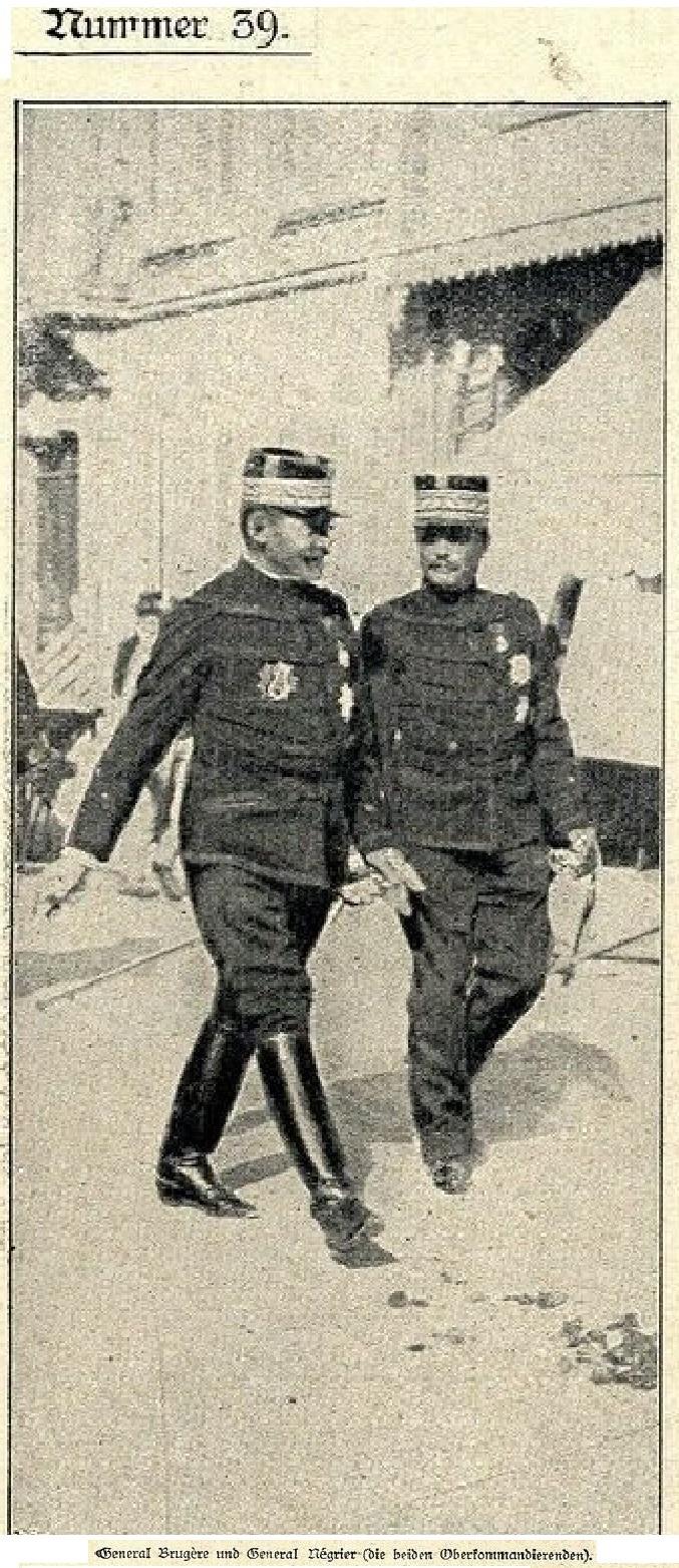 Les Grandes Manoeuvres de 1900 à CHARTRES Genera11