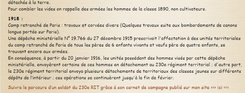 Quelques informations Histo310