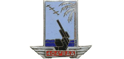 Le 404° RA antiaérienne Insign10