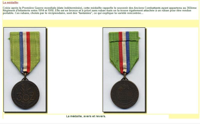 Médaille du 302° Medail12