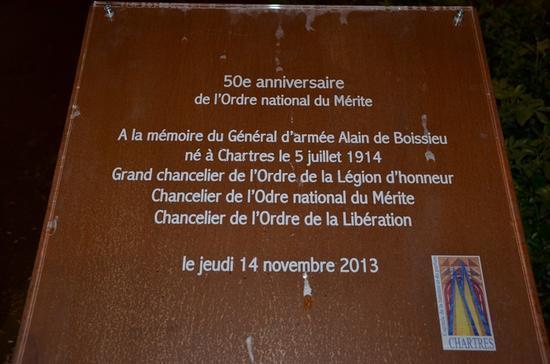Alain de Boissieu Plaque11