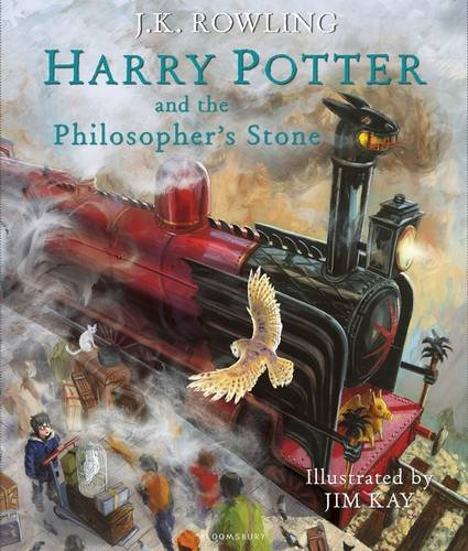 ROWLING J. K. & KAY Jim - Harry Potter and the Pilopsopher's Stone / Harry Potter à l'école des sorciers Hp_ill10