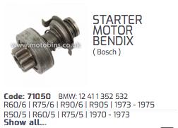 [R90s 1975] Questions Bendix / lanceur de démarreur Bosch Captur11