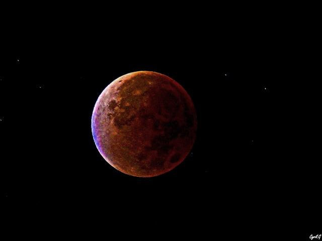 Eclipse de lune Septembre 2015 P1020522