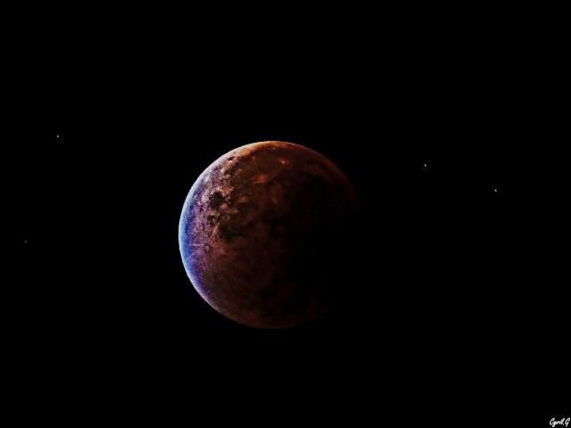 Eclipse de lune Septembre 2015 P1020523