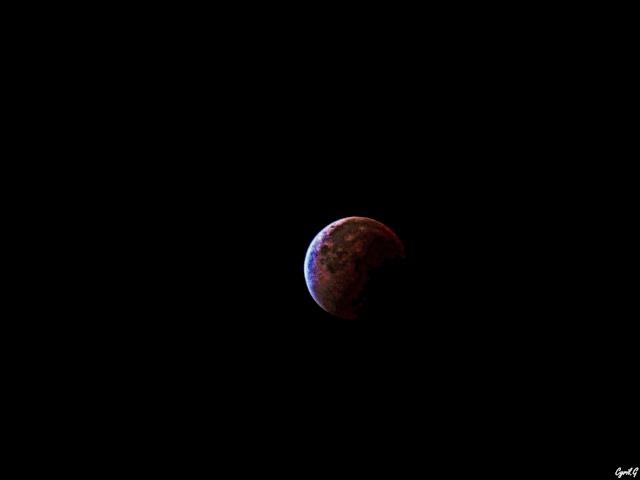 Eclipse de lune Septembre 2015 P1020525