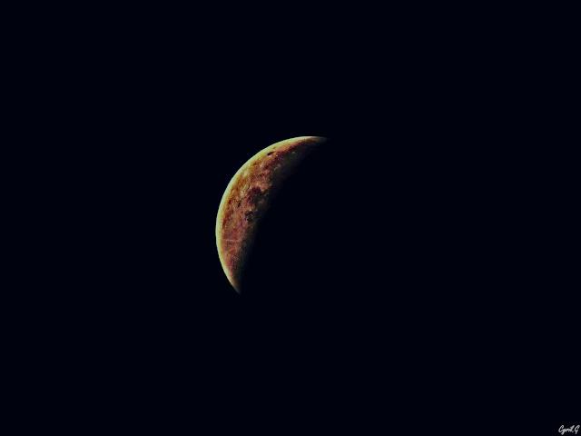 Eclipse de lune Septembre 2015 P1020614