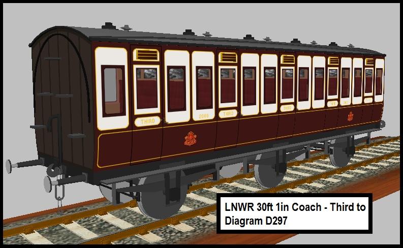 Rufuskins' Workshop LNWR Coaches Lnwr_312