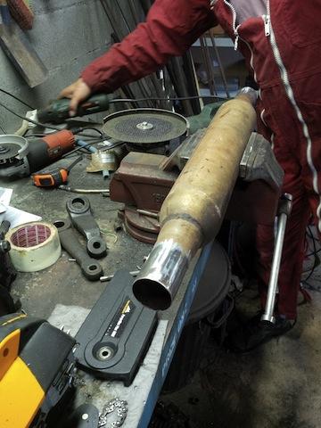 Swap moteur 2.1d -> 2.1 TD suite problème pivot embrayage Img_2011