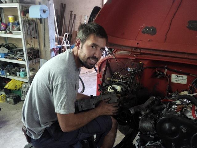 Swap moteur 2.1d -> 2.1 TD suite problème pivot embrayage Img_2012