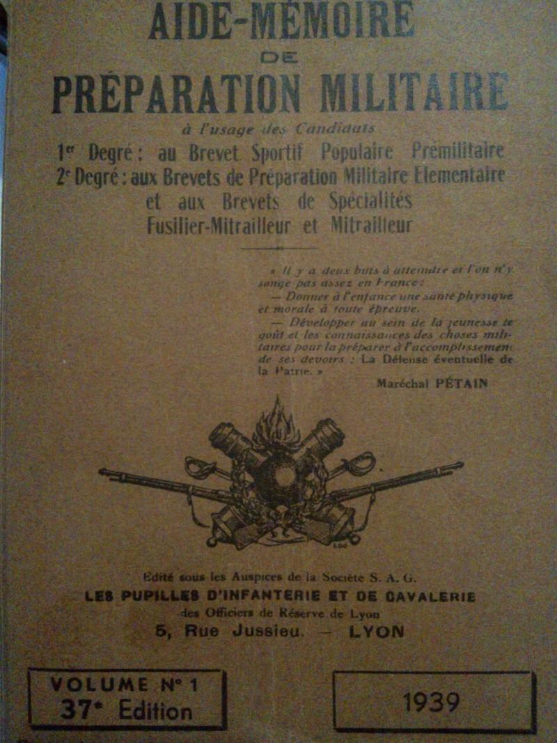 Brevet de préparation militaire élémentaire (B.P.M.E) Prepa10