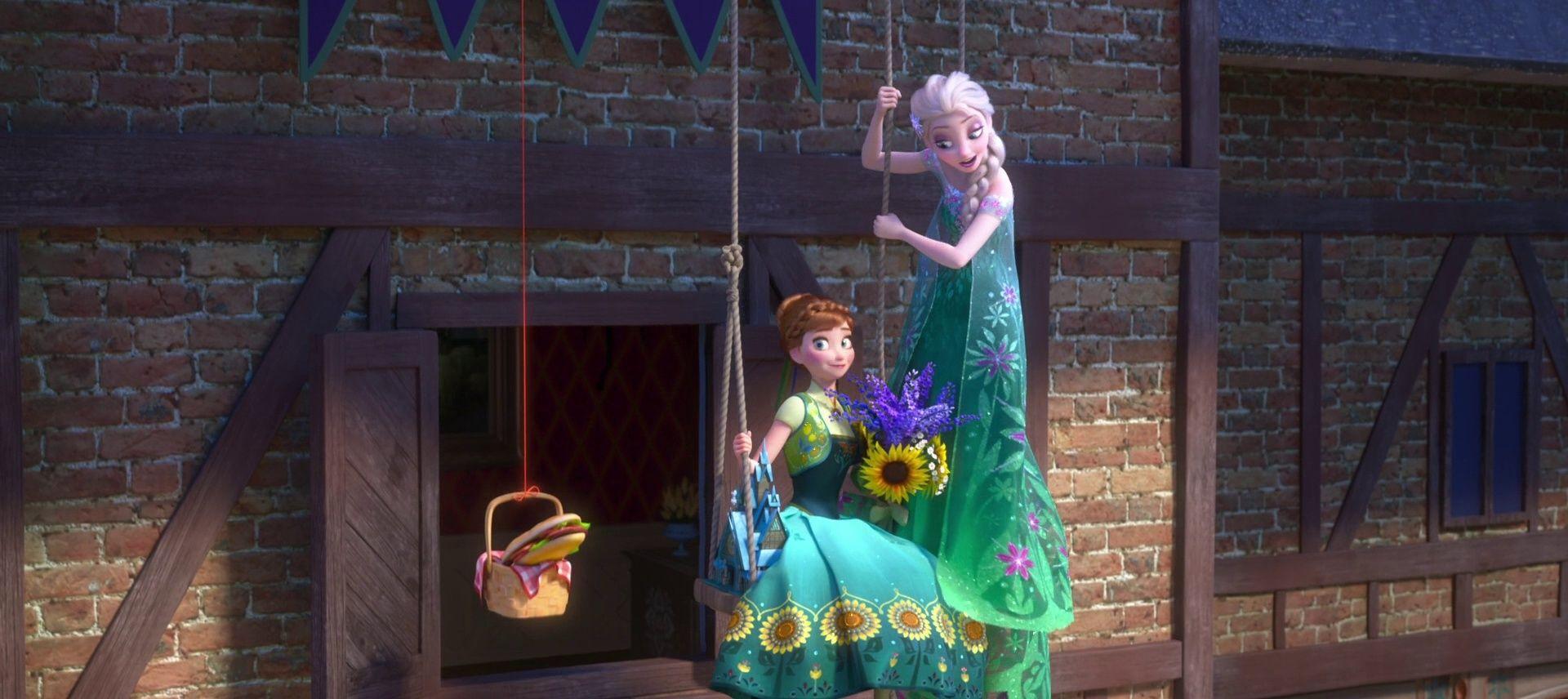 [Court-Métrage Walt Disney] La Reine des Neiges : Une Fête Givrée (2015)   - Page 17 Vlcsna15