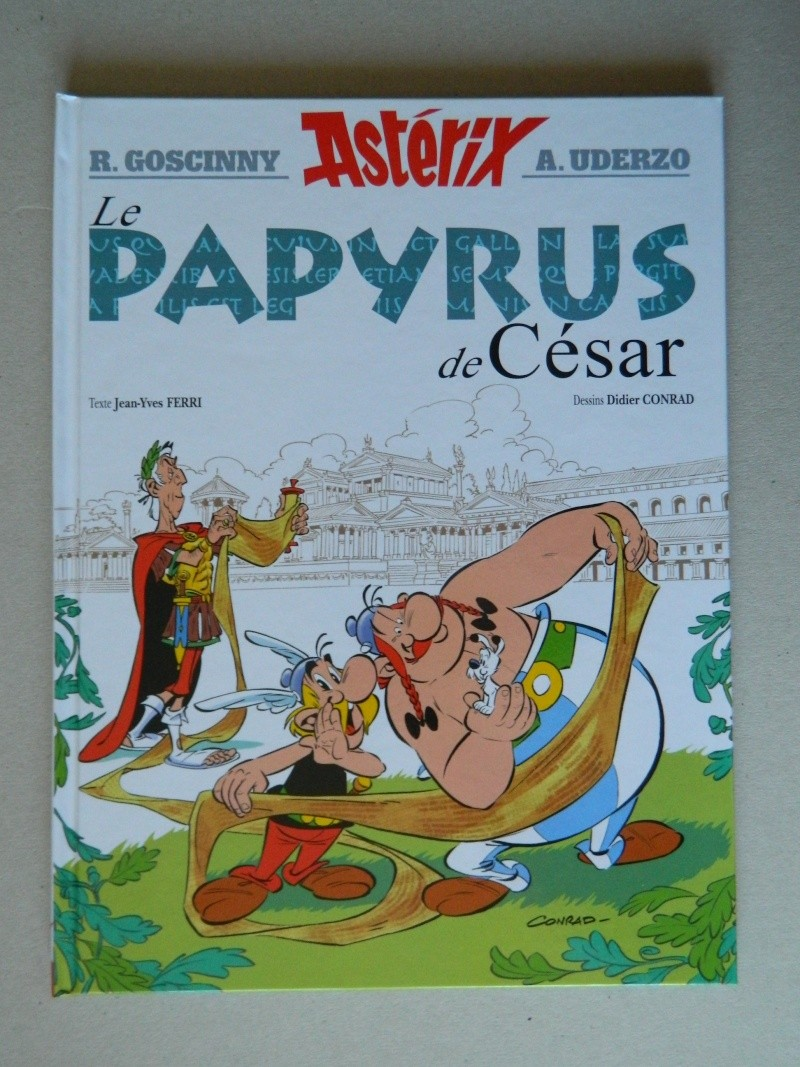 Nouvel album d'Astérix, le Papyrus de Cesar Dscn5310