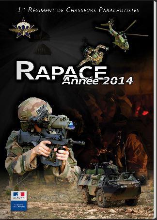 RAPACE année 2014 1er Régiment de Chasseurs Parachutistes Rapace10