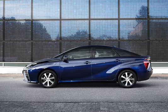 La Mirai de Toyota, pionnière à l'hydrogène 1116