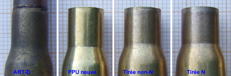 """Rechargement du 8 x 51 R """"Lebel"""" / balle D & TPM327D Collet10"""