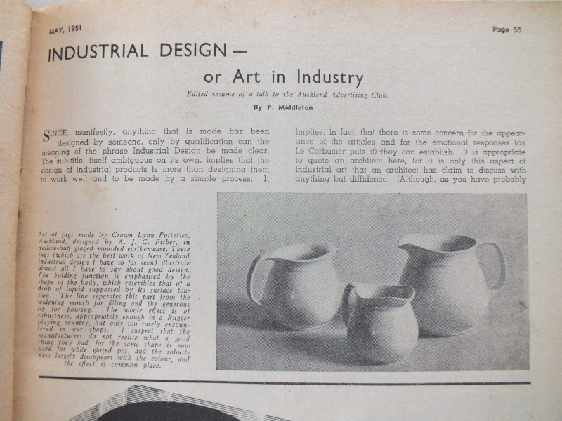 Note on Designer of Early Crown Lynn Jugs 10_nov10