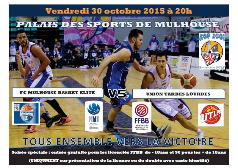 [J.07] FC MULHOUSE - Union Tarbes Lourdes Pyrenees Basket : 91-85 Aff10
