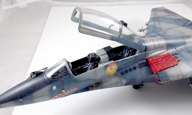 Mikoyan-Gourevitch MiG-29 UB au 1/32 Dscf2327