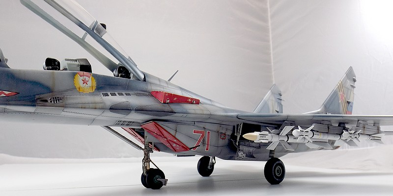 Mikoyan-Gourevitch MiG-29 UB au 1/32 Dscf2328