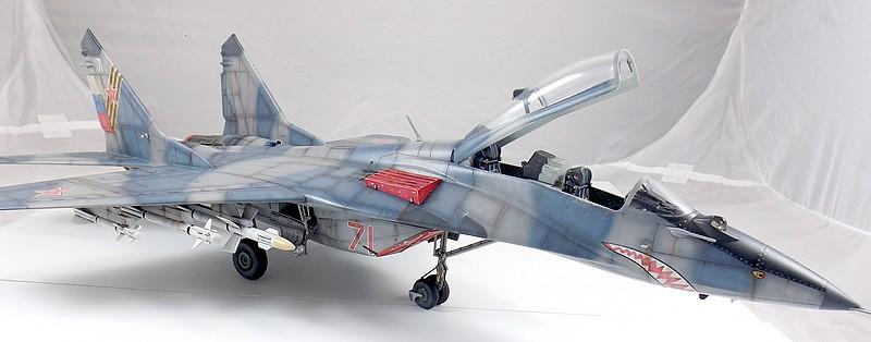 Mikoyan-Gourevitch MiG-29 UB au 1/32 Dscf2336