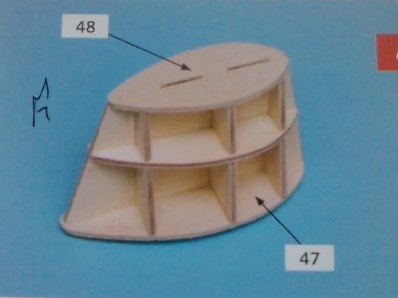 Construire le France 1/250 de chez Hachette - Page 5 Ch2210