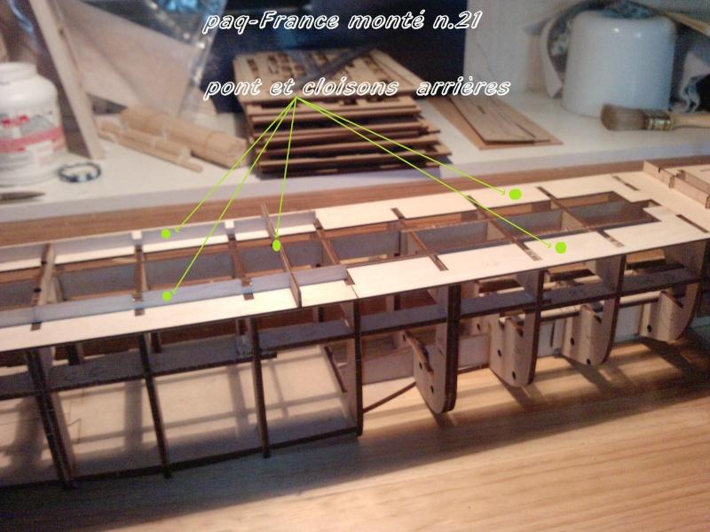 Construire le France 1/250 de chez Hachette - Page 4 Monty_30