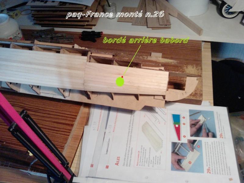 Construire le France 1/250 de chez Hachette - Page 4 Monty_37