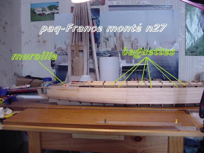 Construire le France 1/250 de chez Hachette - Page 5 Monty_38