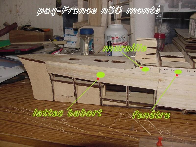 Construire le France 1/250 de chez Hachette - Page 5 Monty_41