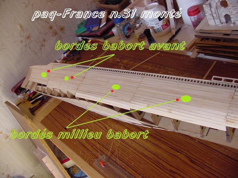 Construire le France 1/250 de chez Hachette - Page 5 Monty_43