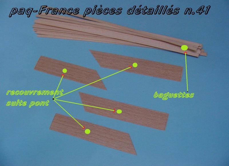 Construire le France 1/250 de chez Hachette - Page 6 Pieces11