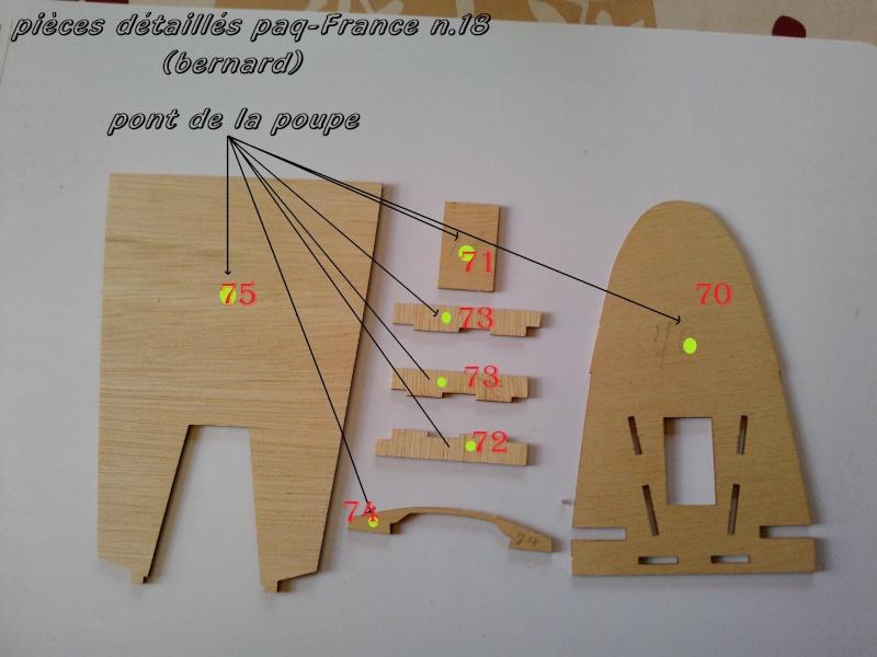 Construire le France 1/250 de chez Hachette - Page 4 Piyces27