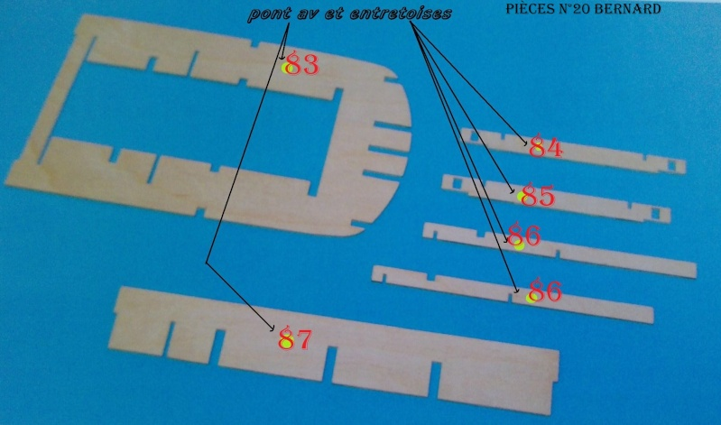 Construire le France 1/250 de chez Hachette - Page 4 Piyces29