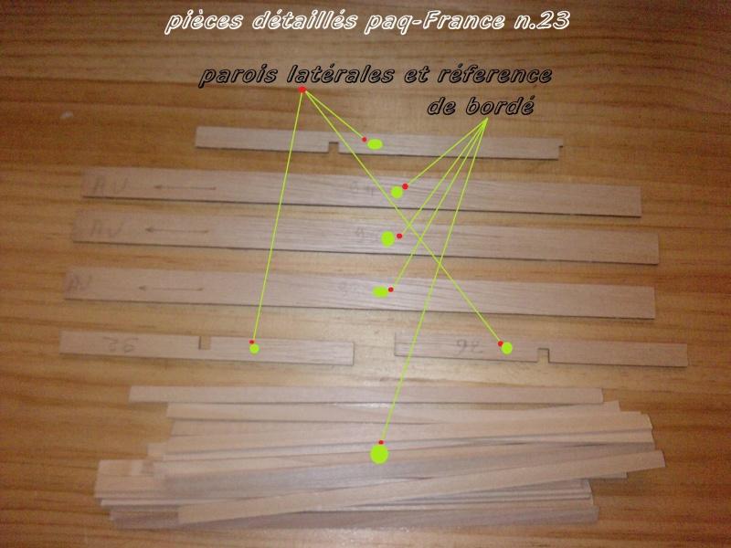 Construire le France 1/250 de chez Hachette - Page 4 Piyces32