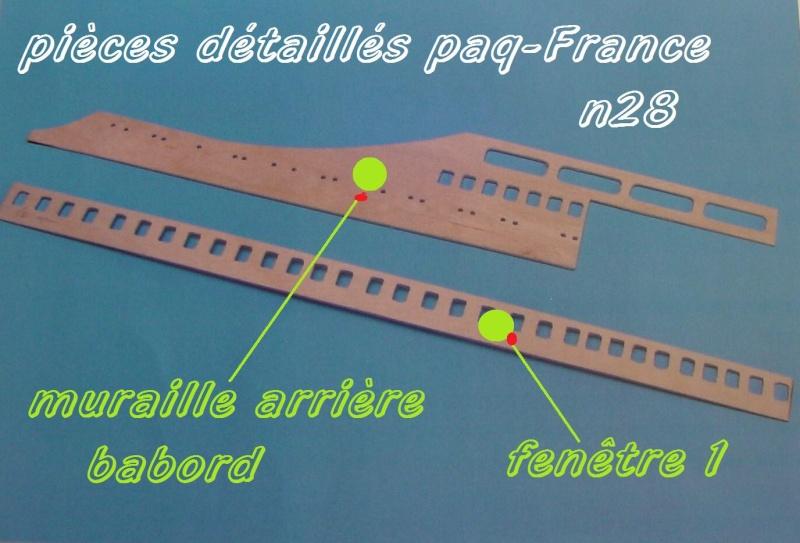 Construire le France 1/250 de chez Hachette - Page 5 Piyces37