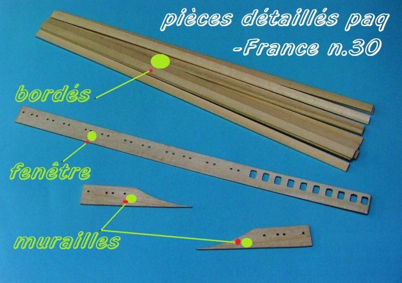 Construire le France 1/250 de chez Hachette - Page 5 Piyces39