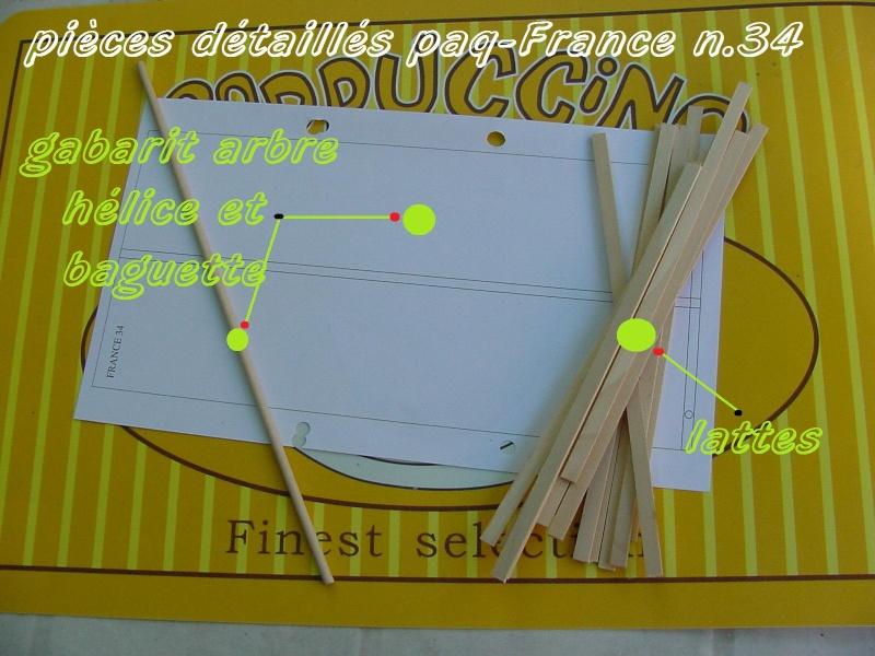 Construire le France 1/250 de chez Hachette - Page 5 Piyces42