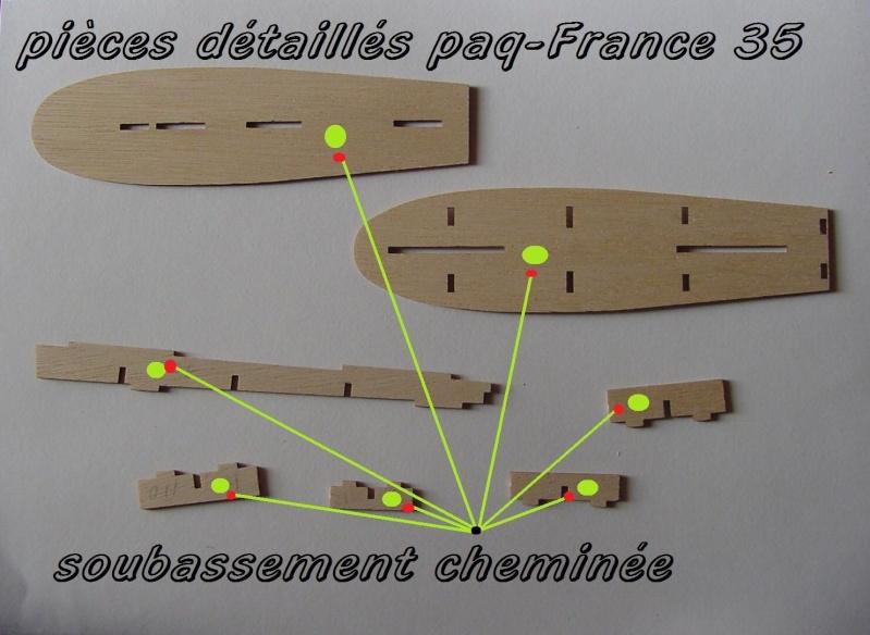 Construire le France 1/250 de chez Hachette - Page 5 Piyces43
