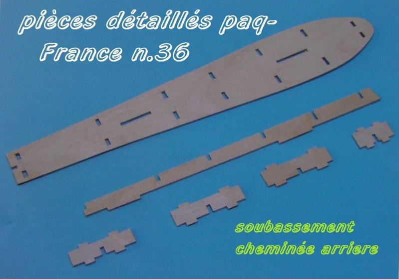 Construire le France 1/250 de chez Hachette - Page 5 Piyces44