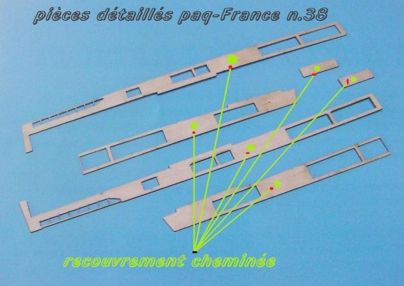 Construire le France 1/250 de chez Hachette - Page 6 Piyces45