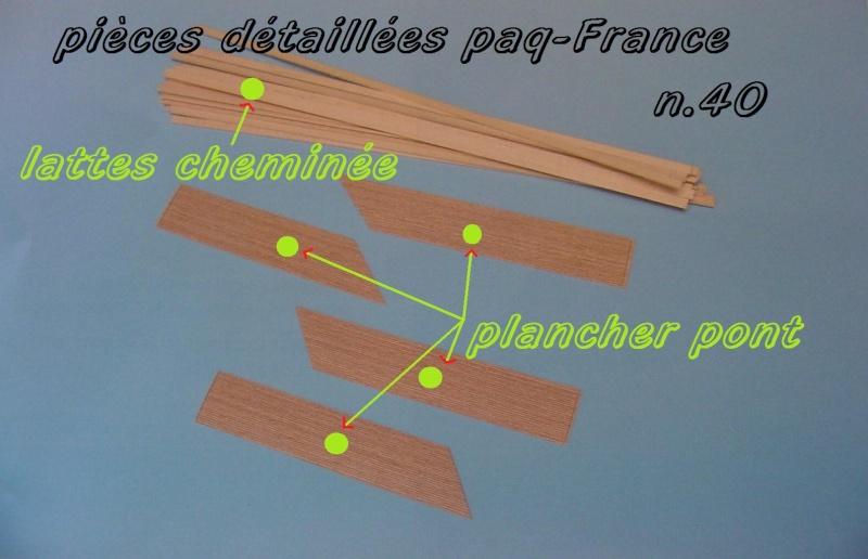 Construire le France 1/250 de chez Hachette - Page 6 Piyces47