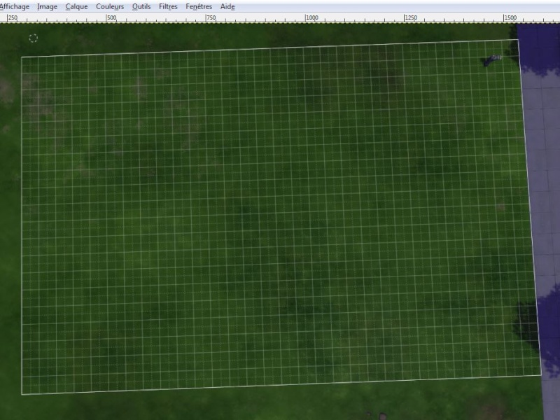 [Apprenti]Tracer le plan de sa maison en utilisant la grille du jeu Cap110