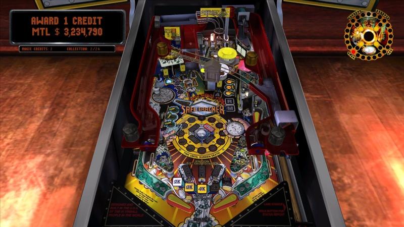Pinball Arcade : Safe Cracker Pinbal10
