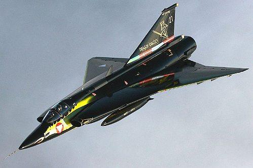 J350 DRAKEN Autrichien Dragon Knights ( Hasegawa) Draken10