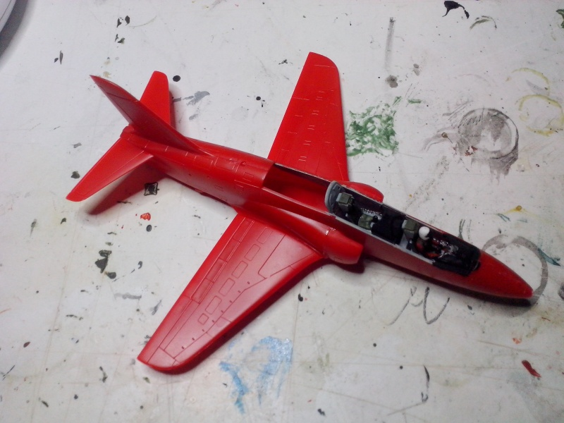 BAE HAWK des Red Arrows (revell) Img_2019
