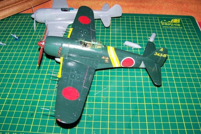 N1K2-J Shiden KAI Hasegawa 1/48 (fini mais bof ) 100_0017