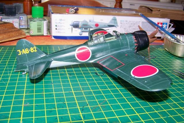 A6M8 Zero type 54/64 fini 100_0048