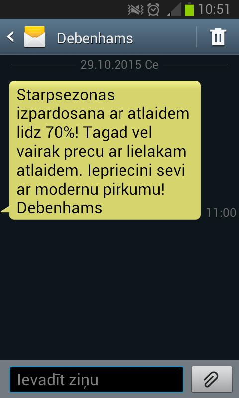 Dīvainie tālruņu numuri un nepierasītās sms īsziņas Screen13